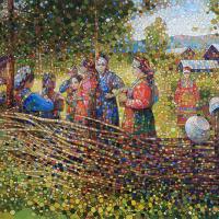 Праздничный плетень