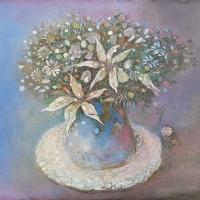 cvetyv sinei vaze